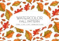 Fall Watercolor Pattern