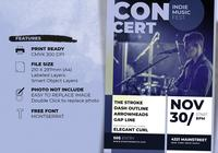 Indie Music Concert Poster Template