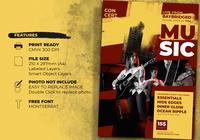 Concert  Event Flyer Templates