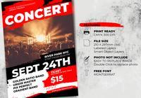 Music Concert Flyer Template