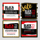 Black Friday Instagram Template Set