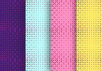 Neonljuspartiklar Seamless Pattern Design