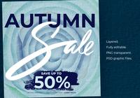 Autumn Sale Instagram Templates Poster