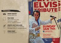 Singer Tribute Flyer Template