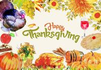 Thanksgiving Elements PSD