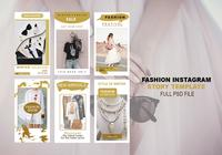 Fashion Instagram Story Template PSD