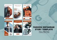 fashion instagram historia mall psd