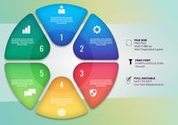 Zeitachse Infografiken Design Workflow Layout Diagramm und Marketing Icons Elemente
