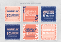 Instagram Valentines Verkaufsvorlage