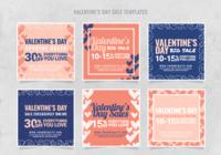 Plantilla de venta de Valentines de Instagram