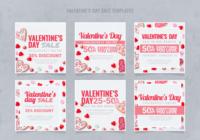 Instagram Valentinstag Verkaufsvorlage
