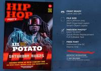 Hip Hop Music Poster Template