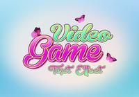 Effet de texte de jeu vidéo PSD