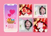 Instagram Valentines Sale Template